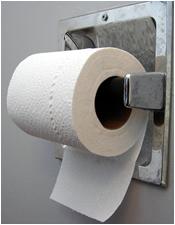 Hanging Toilet Brush Holder